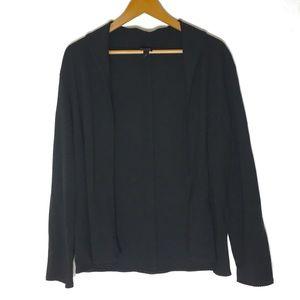 Eileen Fisher Black Long Sleeve Cardigan